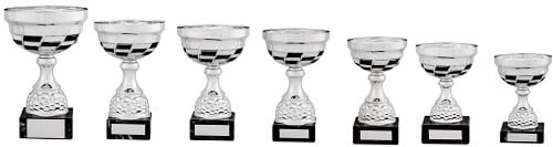 Chequered Themed Cup Trophies DSMS40 Series