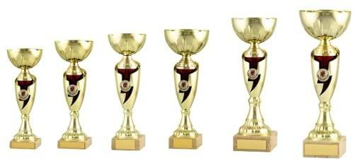 Gold Red Theme Trophy Cup 2044 Series