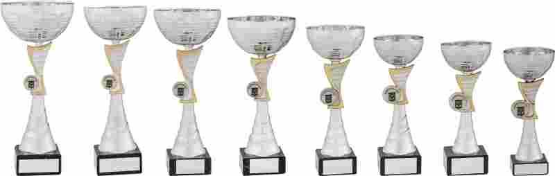 Low Priced Metal Cup Trophies 2115 Series