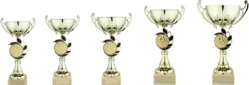 Gold Cup Trophies 1618 Series