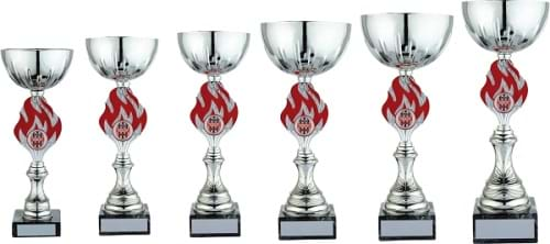 Silver Red Cup Award 1615 Series