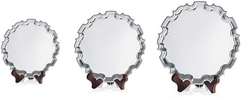 Chippendale Silver Plated Trays