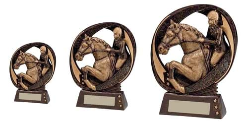Typhoon Equestrian Resin Trophies RF16077 Series