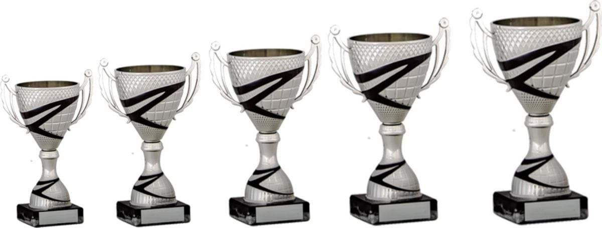 Silver Black Cup Trophies