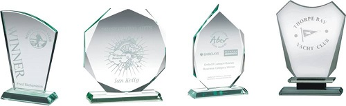 Glass Plaque Trophies