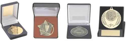 Medals in Boxes