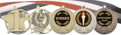 Generic Medals -1st,2nd, Achievement etc