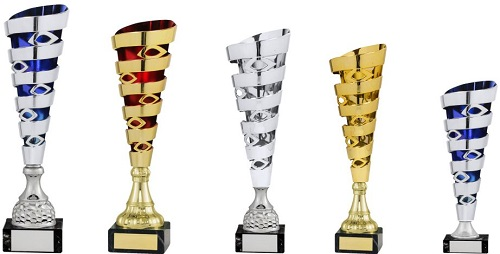 Fluted Cup Trophies