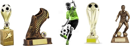 Football Trophies Male
