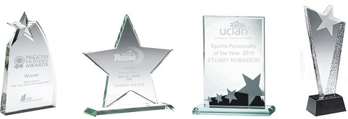 Glass Star Trophies