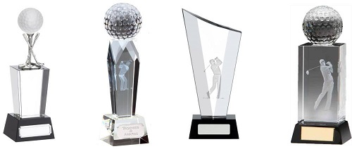 Golf Glass Trophies