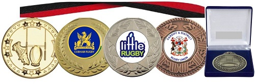 Rugby Medals