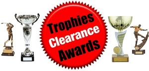 Budget & Clearance Trophies Cups & Awards