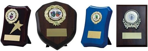 Wood Trophy Plaques