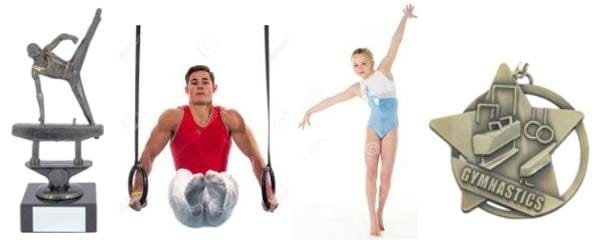 Gymnastic Trophies and Medals