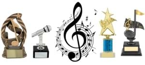 Music Trophies and Awards
