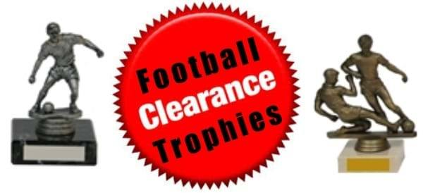 Football Clearance Trophies