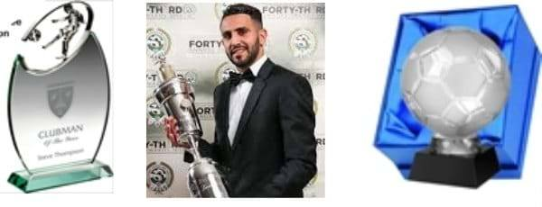 Football Player Best Of Season Trophies